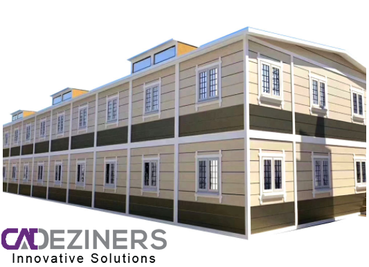 3D Printing of House by Cad Deziners